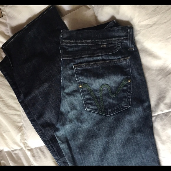 Citizens Of Humanity Denim - Citizens of Humanity green pocket jeans